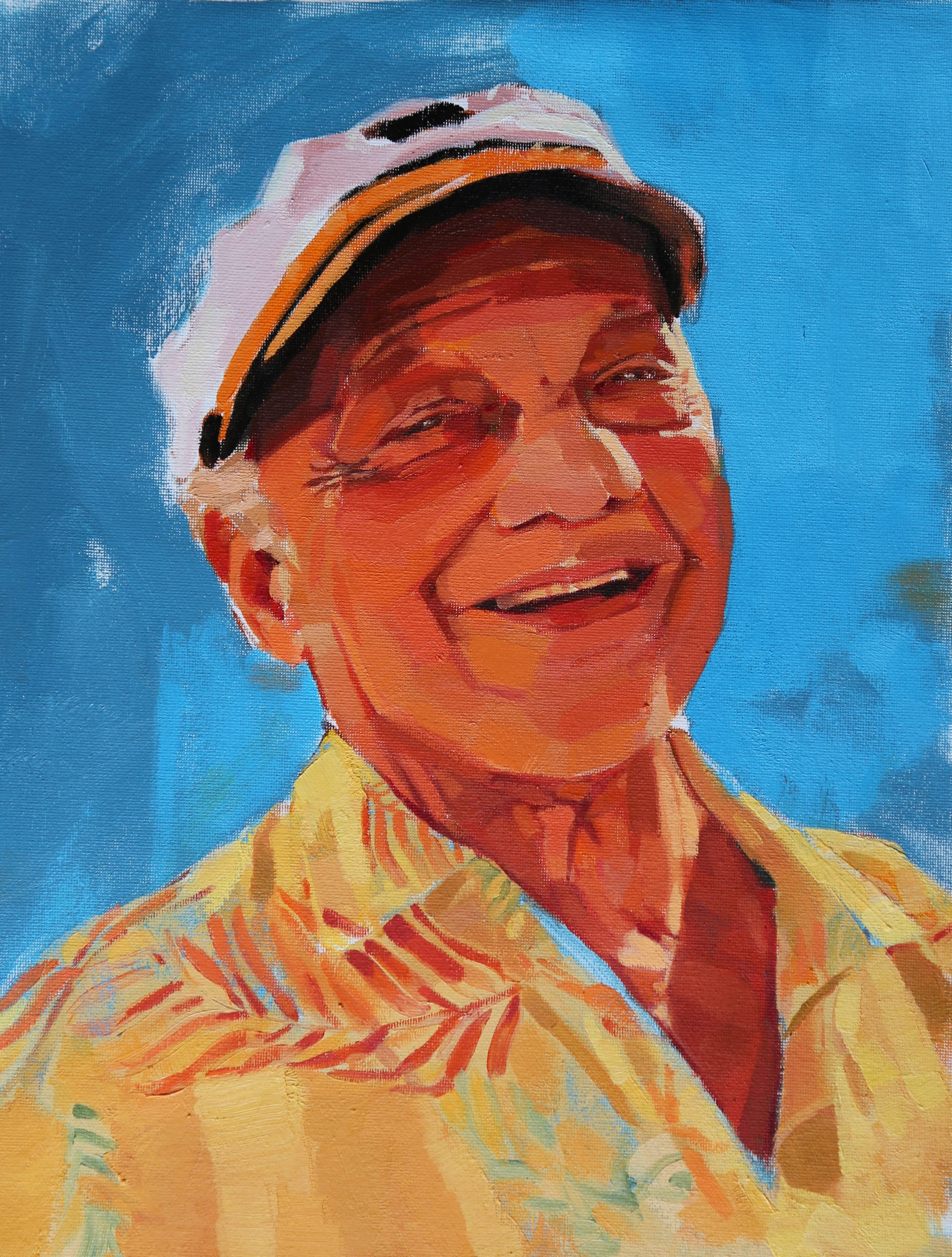Abuelo Eduardo PAINTING – COMMISSION